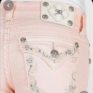 Miss Me Glitz Stretch Cropped Jeans